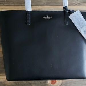 New Kate Spade Black Tanya Tote Bag